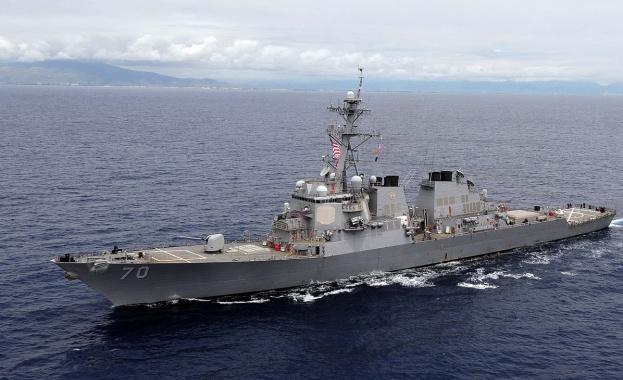 Китайското външно министерство обвини американски военен кораб в нарушаване на