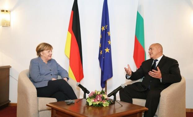 Меркел в София: Не мога да кажа дата за влизане на България в Шенген