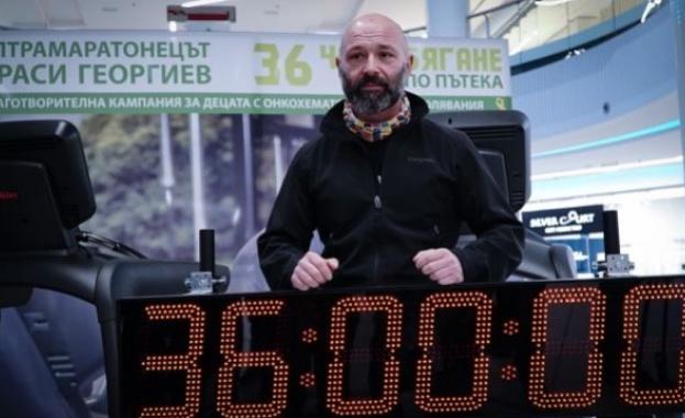 41b15f3342a Ултрамаратонецът Красимир Георгиев успя да постигне голямата си цел да -  Новини 24/7