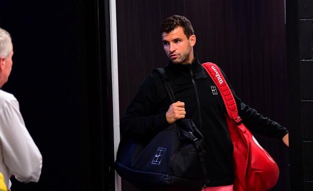 Григор Димитров ще излезе за четвъртфинала си на Откритото първенство