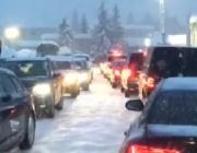 Невиждан сняг засипа икономическия форум в Давос