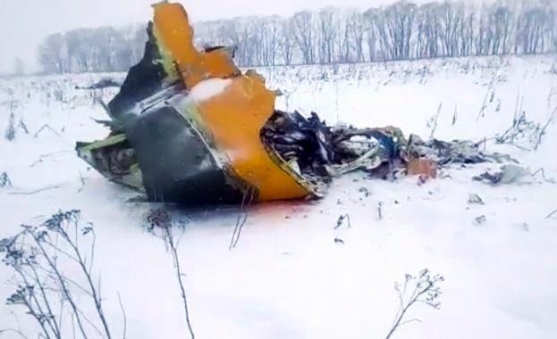 Разбилият се Ан-148 имал високи стандарти за сигурност