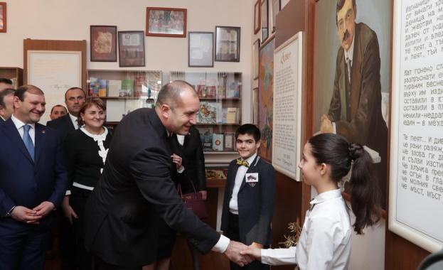 Президентът Румен Радев: Искрата на приятелството, която Яворов запали между българи и арменци, гори и днес