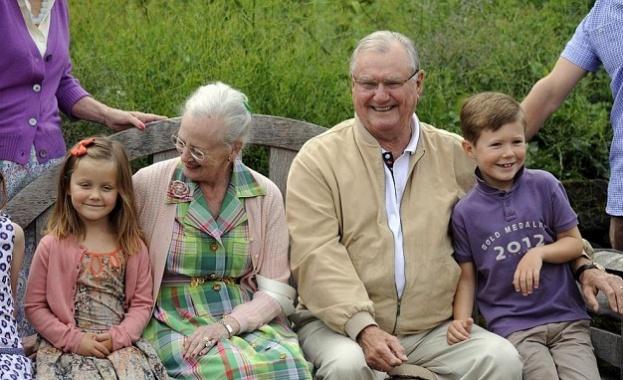 Принц Хенрик, съпруг на датската кралица Маргрете Втора, почина на