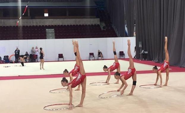 Националния ансамбъл по художествена гимнастика на България спечели златен медал