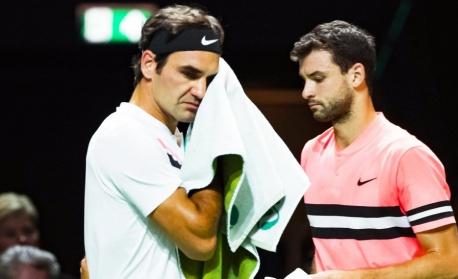 Големият Роджър Федерер съкруши Григор Димитров на финала в Ротердам
