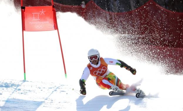 Българският представител в ски алпийските дисциплини Алберт Попов направи страхотно