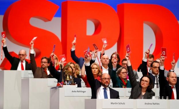 Германската социалдемократическа партия (ГСДП) стартира официално дългоочакваното гласуване за включване