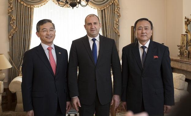 България високо цени позитивния диалог между Република Корея и Корейската