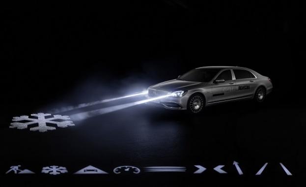 Mercedes показа фарове с резолюция от 2 млн. пиксела