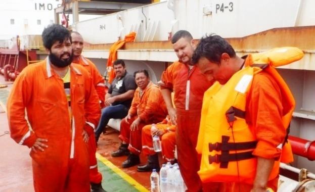 Българи спасиха моряци от потъващ кораб в Мексиканския залив