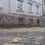 Мазилка падна от стара къща в Пловдив и рани жена