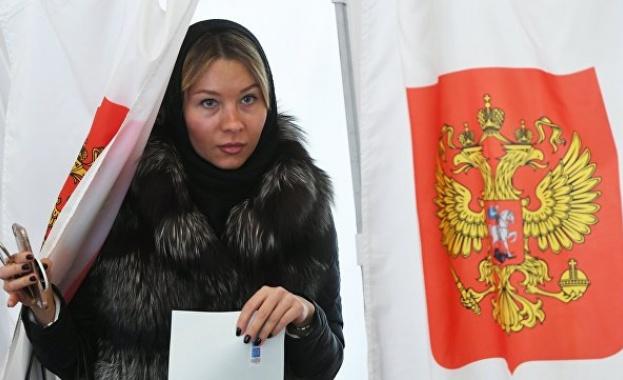 Около 35% от руснаците са гласували на президентските избори в