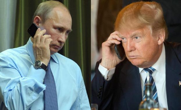 Президентът на Съединените щати Доналд Тръмп проведе телефонен разговор с
