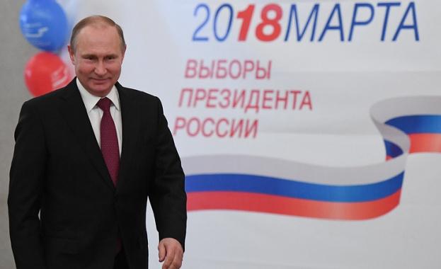 Сегашният държавен глава на Русия Владимир Путин печели нов президентски