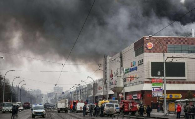 Проверяват над 10 000 търговски центрове в Русия след пожар в Кемерово