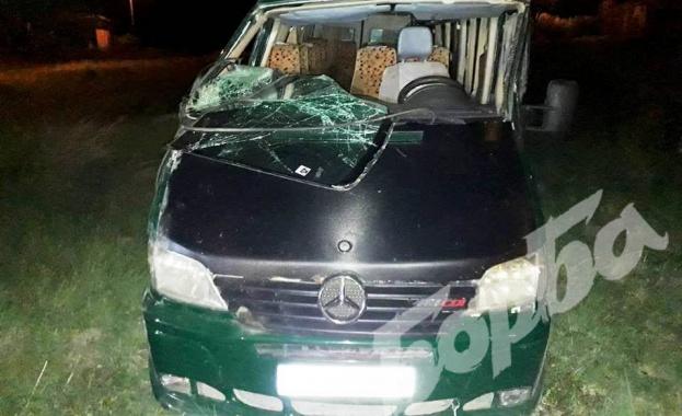 10 000 лева глоба грози шофьора на микробуса, който катастрофира снощи на главния път София - Варна