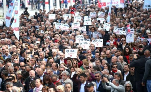 Митинги в Турция: Демокрация, а не извънредно положение