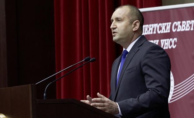 Държавният глава Румен Радев: Очаквам на този КСНС да стане ясно какви са мерките, предприемани от България относно рисковете и заплахите за националната сигурност