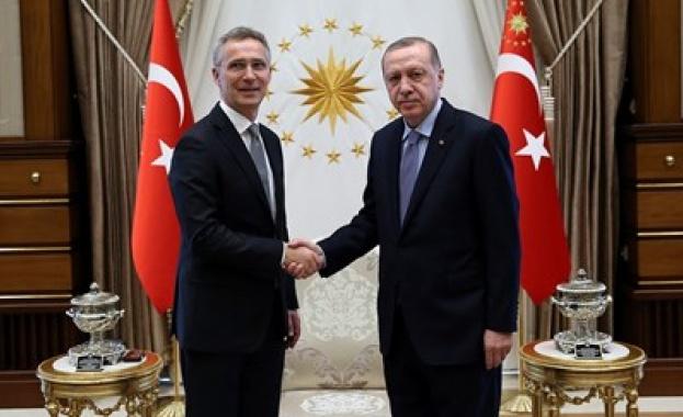 Ердоган се срещна със Столтенберг в Анкара