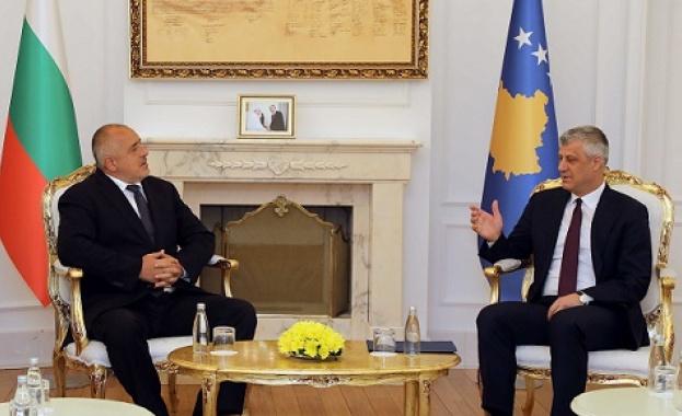Бойко Борисов: Ако искат в ЕС, Сърбия и Косово трябва да възстановят диалога