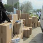 100 мастербокса контрабандни цигари спряха край Казанлък