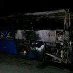 Фирмата собственик на изгорелия снощи автобус е изрядна по документи