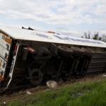 """Мъж е с опасност за живота след инцидент с камион на АМ """"Тракия"""""""