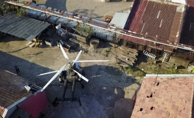 Пилотът, който вчера принудително приземи хеликоптер във Винпром - Свищов,