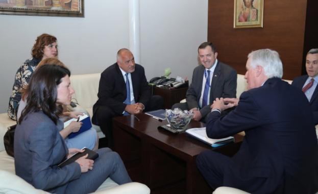 Министър-председателят Бойко Борисов се срещна с Мишел Барние, главен преговарящ