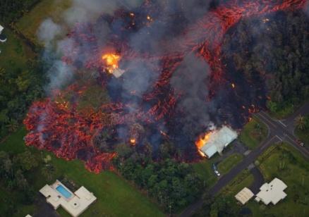 Лавата от вулкана Килауеа продължава да създава опасности