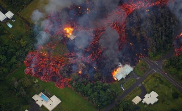 Вулканът на Хаваите отново се активизира