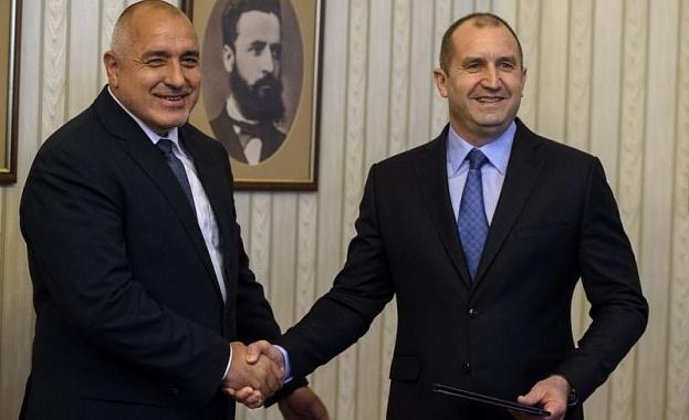 Снимка: Борисов пак недоволства от президента