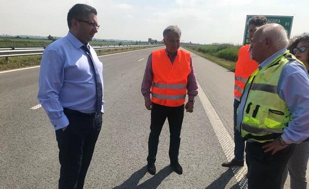 """Асфалтът на ремонтирания 22 км участък от АМ """"Тракия"""" ще издържа на температура до 50 градуса"""
