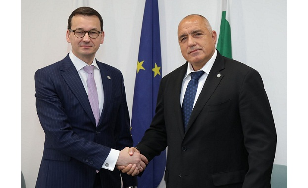 Борисов и Моравецки си говориха за развитието на Западните Балкани