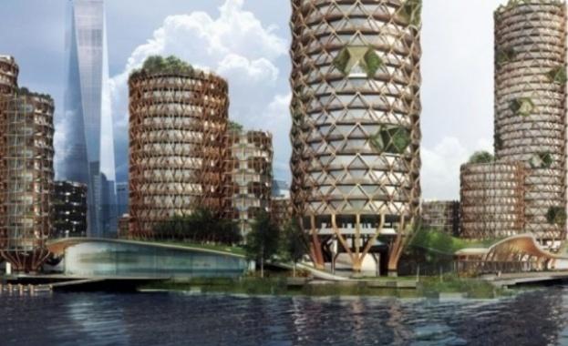 Нюйоркски архитекти проектираха плаващ жилищен комплекс