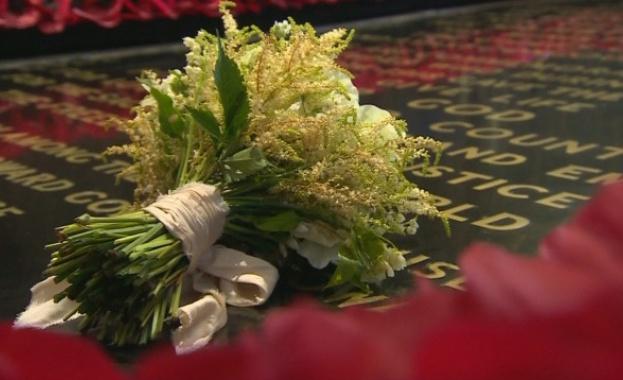 Сватбеният букет на Меган Маркъл беше поставен на Паметника на