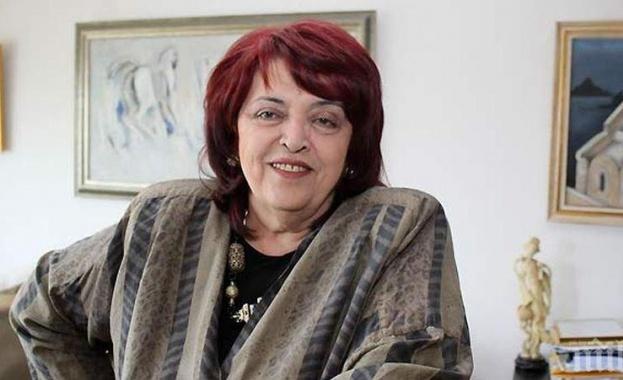 На 73-годишна възраст почина оперната прима Христина Ангелакова, съобщиха от