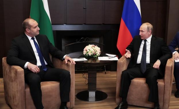 Президентът Румен Радев изрази надежда, че посещението на премиера Бойко