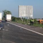 Аварирал ТИР блокира пътя Разлог-Якоруда