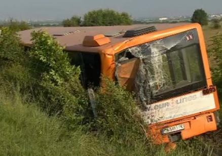 Шофьорът на ТИР-а, блъснал автобус, е с повдигнато обвинение