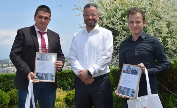 Победители са двама възпитаници на Техническия университет в София Двама