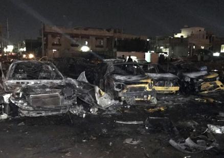 Най-малко четирима души загинаха при самоубийствен атентат в Багдад