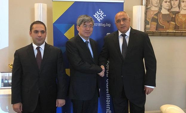Борисов се срещна с китайския посланик Джай Хайджоу