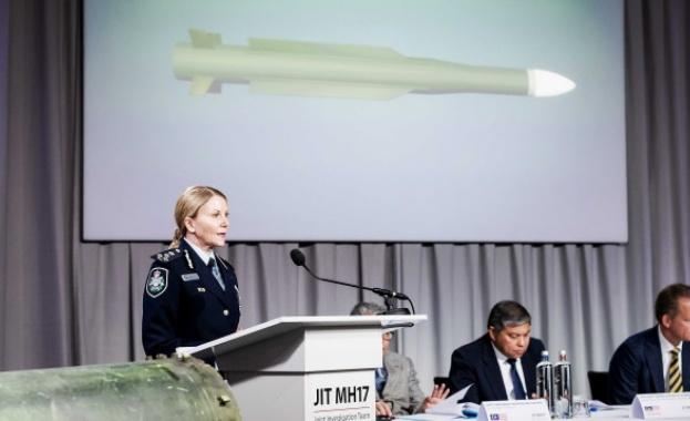 Русия ще анализира изводите на холандски следователи, че падналият малайзийски