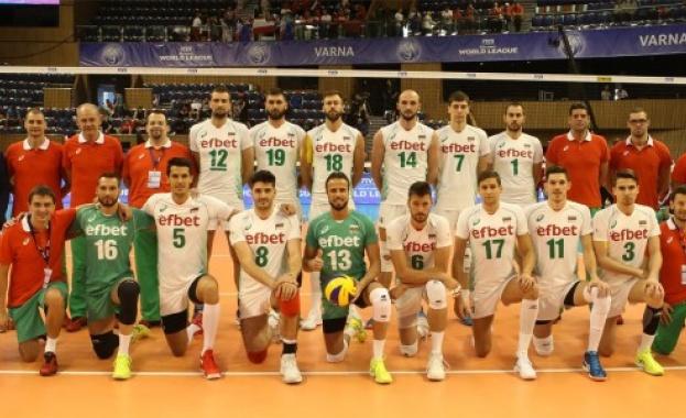 Мъжкият ни национален отбор по волейбол записа първа загуба в