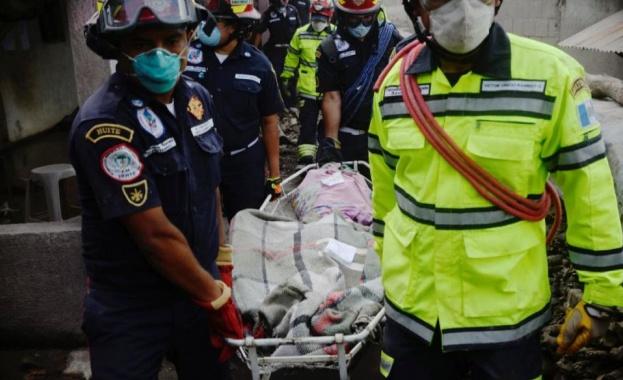 109 са вече потвърдените жертви след изригването на вулкана Фуего