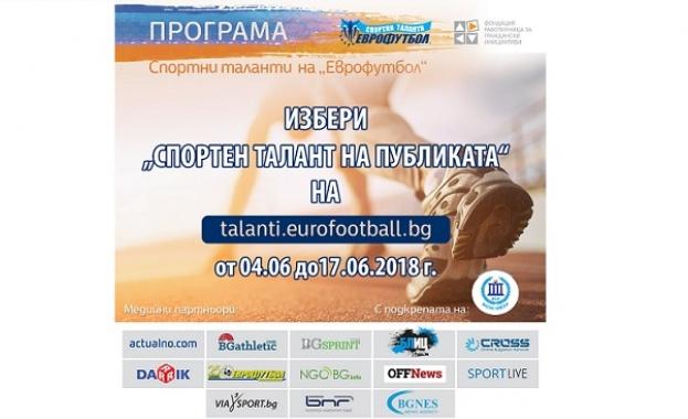 """""""Еврофутбол"""": Александър Сръндев поведе в гласуването за """"Спортен талант на публиката"""""""