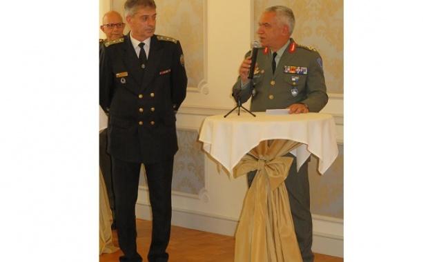 Заместник-началникът на отбраната вицеадмирал Емил Ефтимов откри на 13 юни