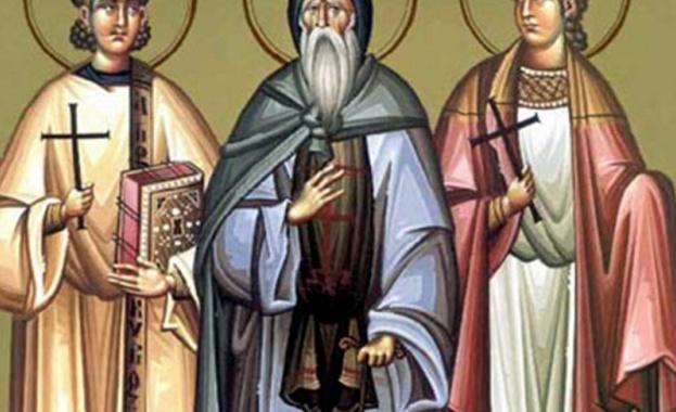 Братята свети мъченици Мануил, Савел и Измаил били родом от